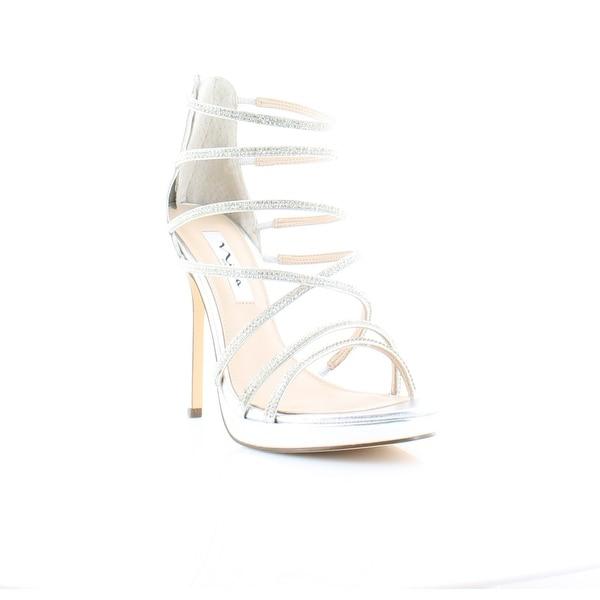 Nina Finessa Women's Heels Silver - 8.5