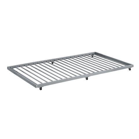 Offex Twin Roll-Out ONLY Trundle for Bed Frame - Silver
