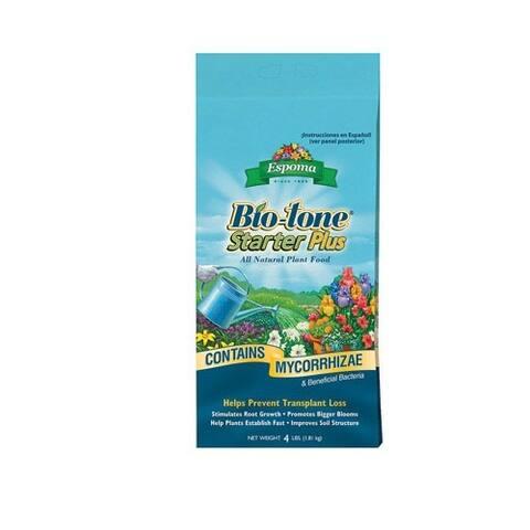Espoma BTSP4 Bio-Tone Starter Plus, 4 Lbs.