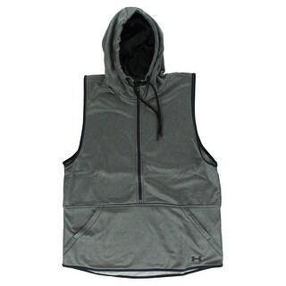 Under Armour Womens Storm Lightweight Armour Fleece Vest Heather Grey - heather grey/black