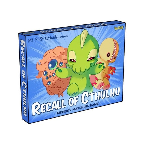 recall of cthulhu a children s memory matching game multi free