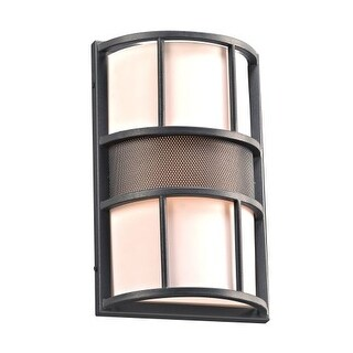 "PLC Lighting 16656 1 Light 8.5"" Wide Outdoor Wall Sconce from the Larissa Collection - Gold"