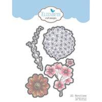 Elizabeth Craft Metal Die-Blooms & Leaves