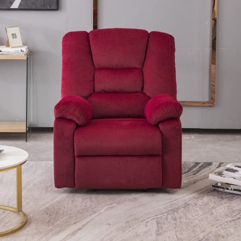 Heavy Duty and Safety Motion Reclining Mechanism Recliner Chair for Elderly