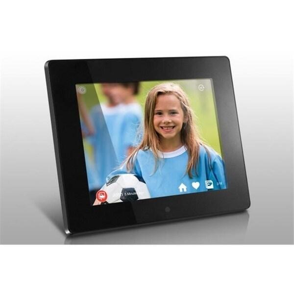 Shop 8 In Wireless Cloud Digital Photo Frame 8gb Touchscreen Ips