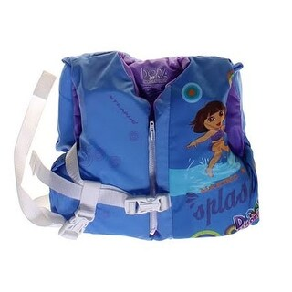 Stearns 2000013504 Nickelodeon Dora the Explorer Infant Life Jacket Vest - blue heather