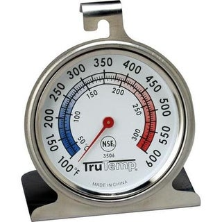 Taylor 3506 TruTemp Oven Dial Thermometer, Stainless Steel