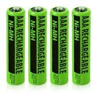 NiMH AAA Batteries (4-Pack) NiMh AAA Batteries 4-Pack
