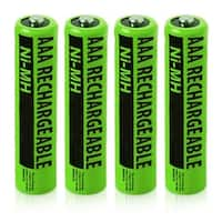 Replacement Philips NiMH AAA Battery for CD4401B / DECT2252 / VOIP3212G Phone Models (4 Pack)