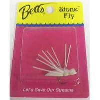 Betts Bream Stone Fly White Size 8