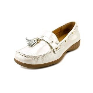 Array Cruise Square Toe Patent Leather Loafer