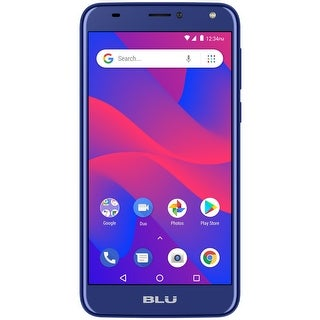 BLU C6 C031P Unlocked GSM Dual-SIM Android Phone w/ Dual 8MP 2MP Camera - Blue (Certified Refurbished)