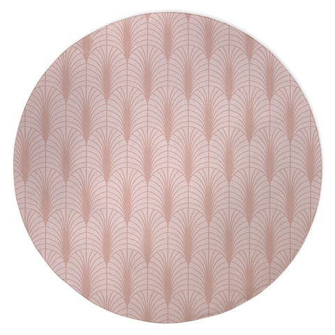 ARCHES PINK Area Rug by Kavka Designs