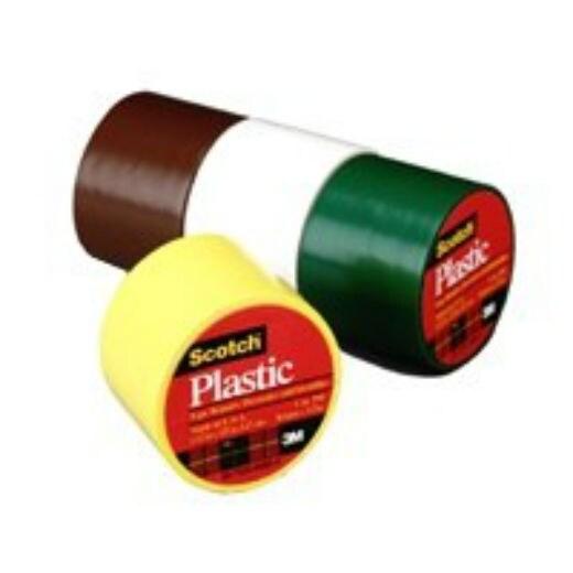 """White Scotch 191W Plastic Tape 1 1//2/"""" x 125/"""""""