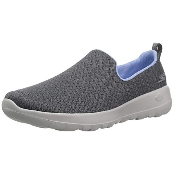 c9190c16d8e26 Shop Skechers Women's Go Walk Joy Rejoice Sneaker, Charcoal/Blue - Free  Shipping Today - Overstock - 26432762