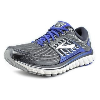 Brooks Glycerin 14 Men  Round Toe Leather Blue Running Shoe