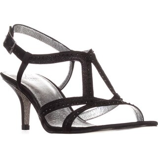 Adrianna Papell Agatha Dress Sandals, Black - 9 us / 39 eu