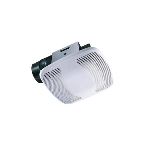 Air King BFQ90MBG 90 CFM 2.5 Sone Finish Pack with Motor and Grille Assembly from the High Performance Snap-In Collection
