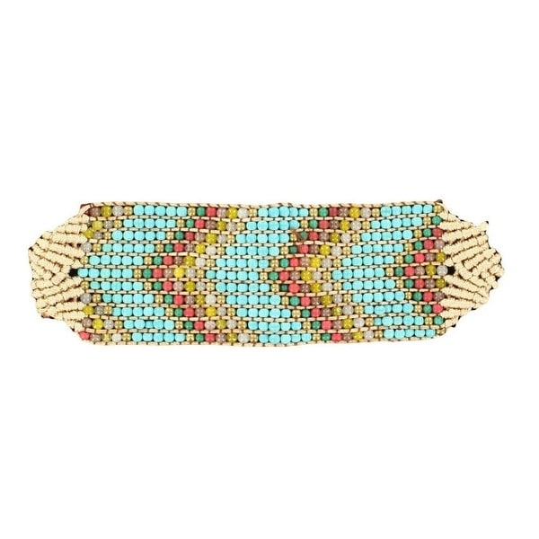 Blazin Roxx Jewelry Womens Wrap Woven Bead Chevron Multi-Color 30746