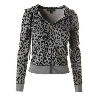 Juicy Couture Black Label Womens Naughty Juicy Modal Blend Modal Original Jacket
