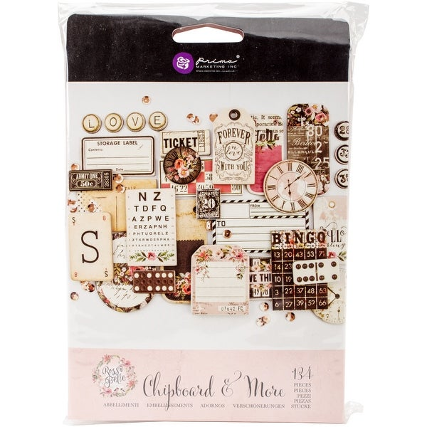 Rossi Belle Chipboard & More-