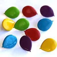 Balloons - Bright - Eyelet Outlet Shape Brads 12/Pkg