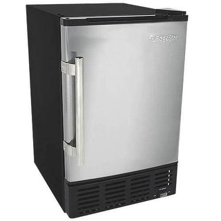 EdgeStar IB120 15 Inch Wide 6 Lbs. Capacity Built-In Ice Maker with 12 Lbs. Daily Ice Production
