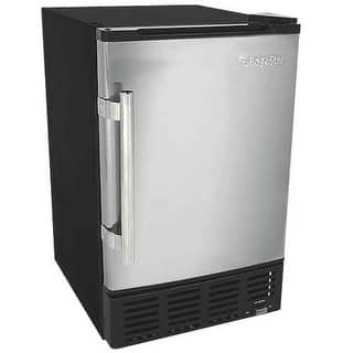 EdgeStar IB120 15 Inch Wide 6 Lbs. Capacity Built-In Ice Maker with 12 Lbs. Daily Ice Production|https://ak1.ostkcdn.com/images/products/is/images/direct/4c369453ebc9b2e2644ffe3ee38ce1e6be26130b/EdgeStar-IB120-15-Inch-Wide-6-Lbs.-Capacity-Built-In-Ice-Maker-with-12-Lbs.-Dail.jpg?impolicy=medium