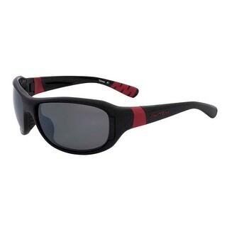 Switch AXO Shiny Black Polarized TC Grey Sliver Interchangeable Sunglasses