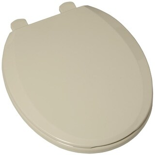 American Standard 5259b.65c Plastic Round Toilet Seat and Cover - Includes Slow Close and Easy Lift-Off Features