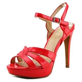 Vince Camuto Jillian Women  Open Toe Synthetic Pink Platform Heel