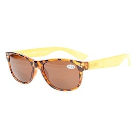 Eyekepper Bifocal Small Size Sunglasses Include Case And Cleaning Cloth Brown Lens +1.75