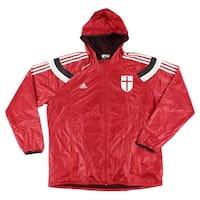 Adidas Mens AC Milan Football Anthem Jacket Red - Red/White/Black