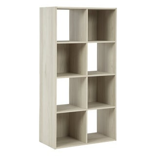 "Socalle Contemporary Natural Eight Cube Organizer - 47""W x 24""D x 12""H"