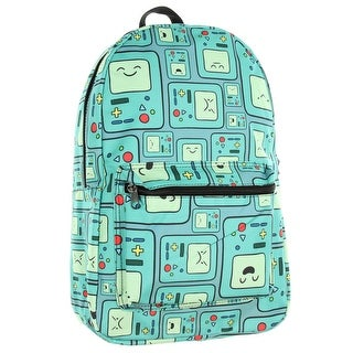 Adventure Time BMO Expressions School Backpack Computer Laptop Bag Book Carry