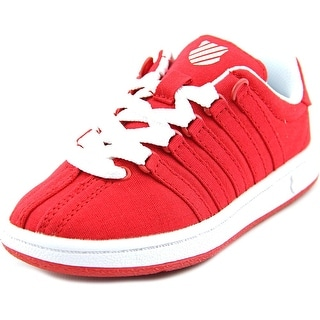 K-Swiss Classic VN T Round Toe Canvas Sneakers