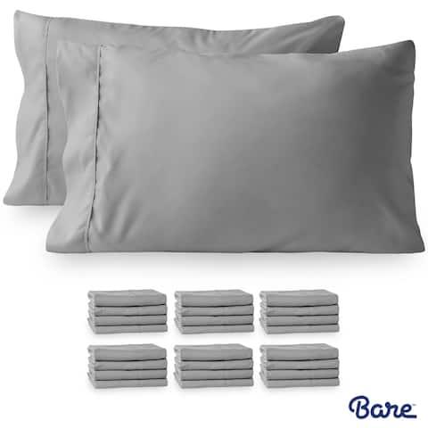 Bare Home Wholesale Bulk Pack Microfiber Pillowcases Hypoallergenic