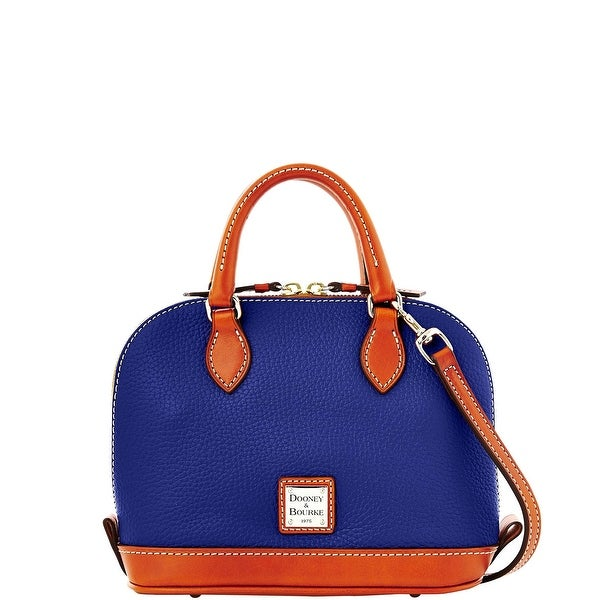 Dooney & Bourke Pebble Grain Bitsy Bag (Introduced by Dooney & Bourke at $178 in Jun 2014) - Cobalt