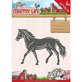 Horse - Find It Yvonne Creations Country Life Die