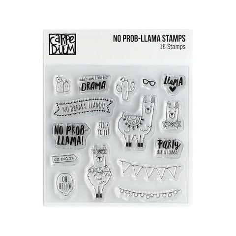 10434 simple stories carpe diem stamp no prob-llama