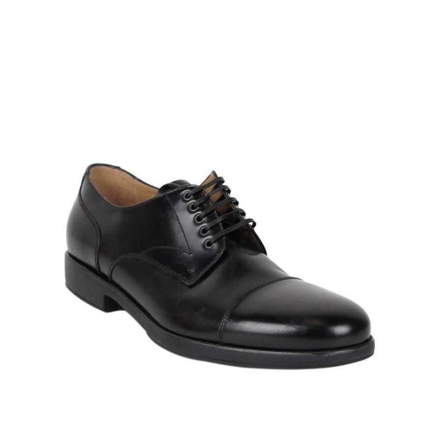 black leather oxford shoes mens