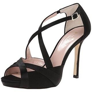 Kate Spade Womens Fensano Satin Platform Evening Sandals