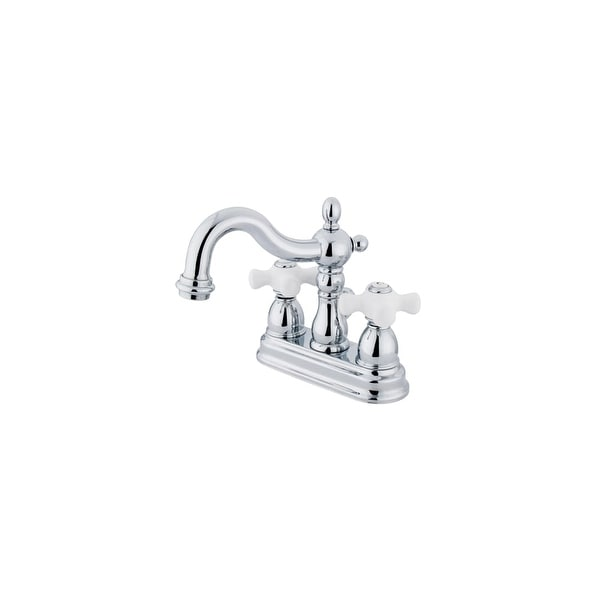 Elements Of Design EB160.PX Heritage Centerset Bathroom Faucet - Chrome