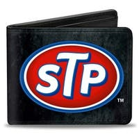 Stp Logo Weathered Bi Fold Wallet - One Size Fits most