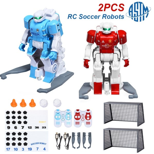 Costway RC Soccer Robot Kids Remote Control Football Game Simulation - Multi - See details. Opens flyout.
