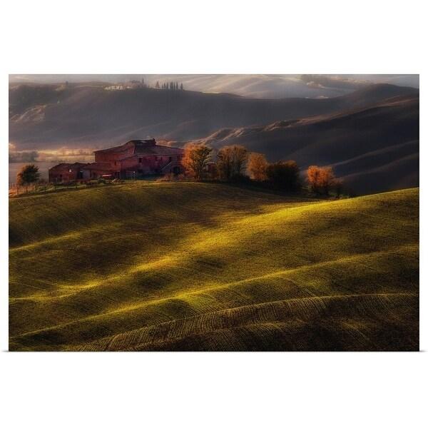 """Farm"" Poster Print"