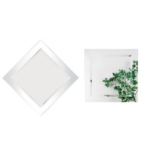 Alno 9287-202 20 x 20 Inch Frameless Square Mirror - N/A