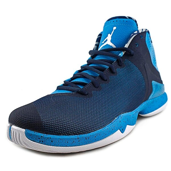 Jordan Super Fly 4.0 PO Men Round Toe Synthetic Blue Basketball Shoe