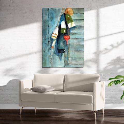 MAINE BUOYS Art on Acrylic By Kavka Designs