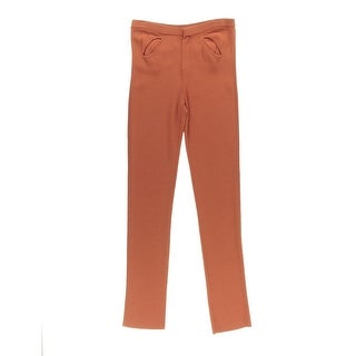 Catherine Malandrino Womens Knit Skinny Leg Casual Pants - S